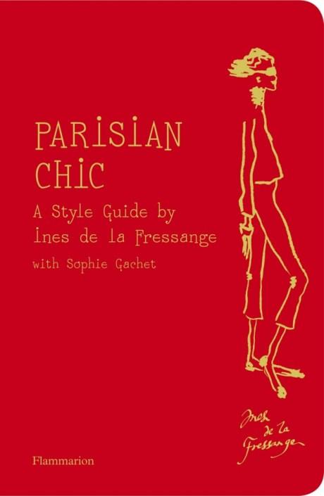 Parisian Chic Ines de la Fressange Book Cover on exshoesme.com