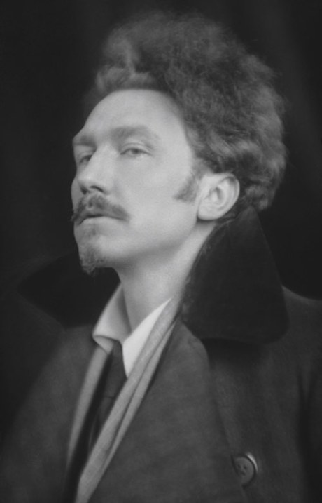 Ezra Pound, 1918 by E.O. Hoppé on exshoesme.com