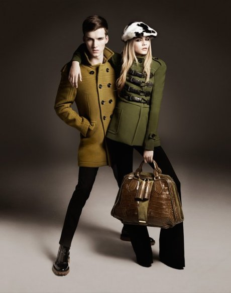 Burberry FW11 Ad Campaign 7 on exshoesme.com
