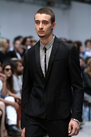 Costume National Menswear Skinny Tie Guy for  SS12 on exshoesme.com