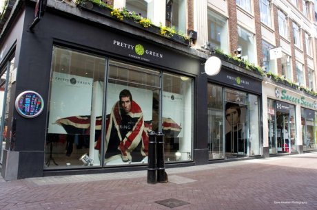Pretty Green Shop on Carnaby Street on exshoesme.com