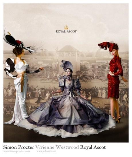 Vivienne Westwood for Royal Ascot Campaign on exshoesme.com