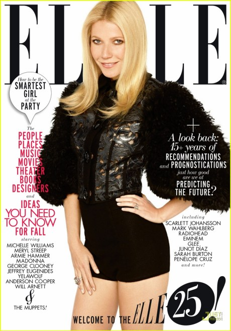 Elle US September 2011 Gwyneth Paltrow Cover 2 on exshoesme.com