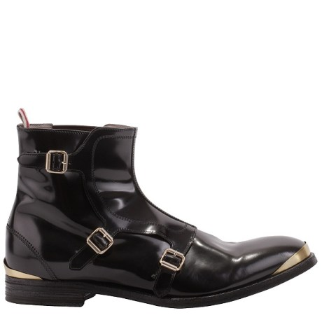 McQueen Men's Buckle Boot on exshoesme.com