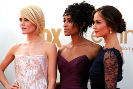 6. The New Charlie's Angels at the 2011 Emmy Awards on Exshoesme.com Photo by Frazer Harrison Getty