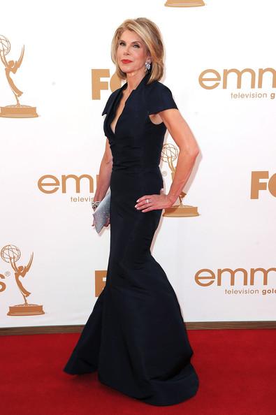 Christine Baranski at the 2011 Emmy Awards on exshoesme.com Photo by Frazer Harrison