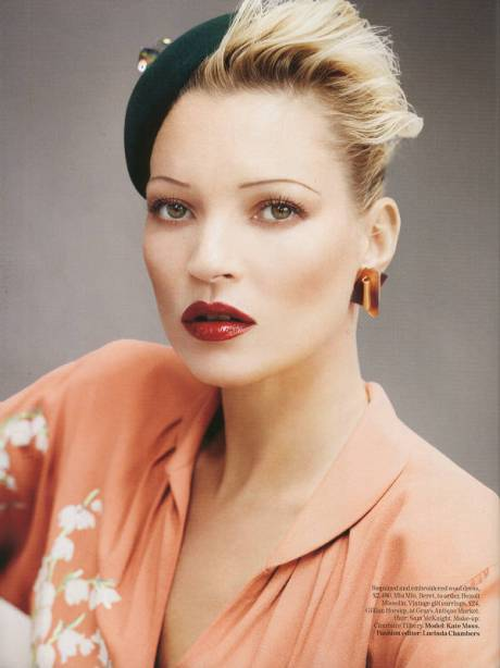 Kate Moss by Mario Testino for British Vogue August 2011 on exshoesme (11)