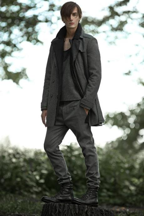 Philippe Dubuc FW11 Menswear Greys on exshoesme.com