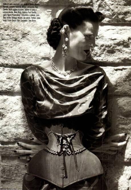 Stella Tennant for Vogue Italia Sept 2011 by Steven Meisel on exshoesme.com 5