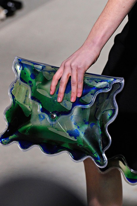 Christopher Kane FW11 Wave Purse on Exshoesme.com