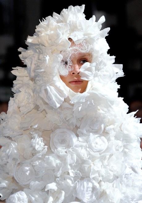 Comme Des Garcons SS12 Flower Hood on Exshoesme.com