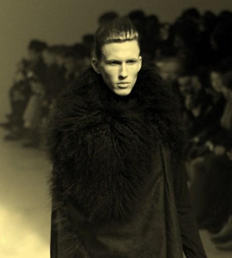 Julius FW11 Menswear Fur Collar Exshoesme.com