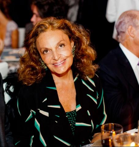 Diane von Furstenberg at Almodovar Benefit at MoMA on Exshoesme.com