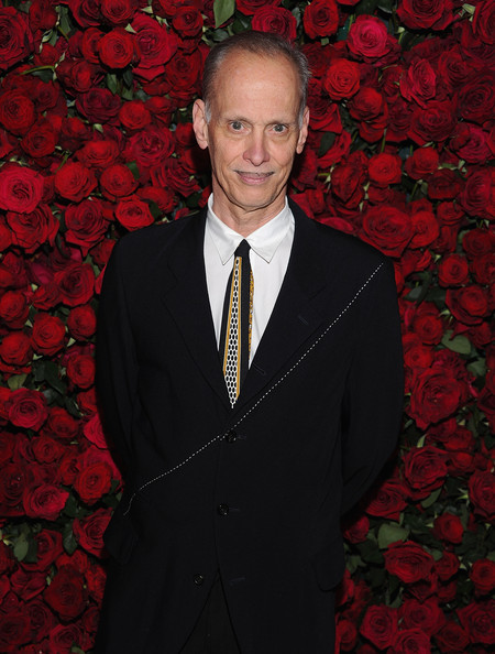 John Waters at Almodovar Benefit at MoMA on Exshoesme.com