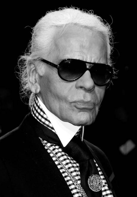 Karl Lagerfeld, Modern Maharaja on Exshoesme.com