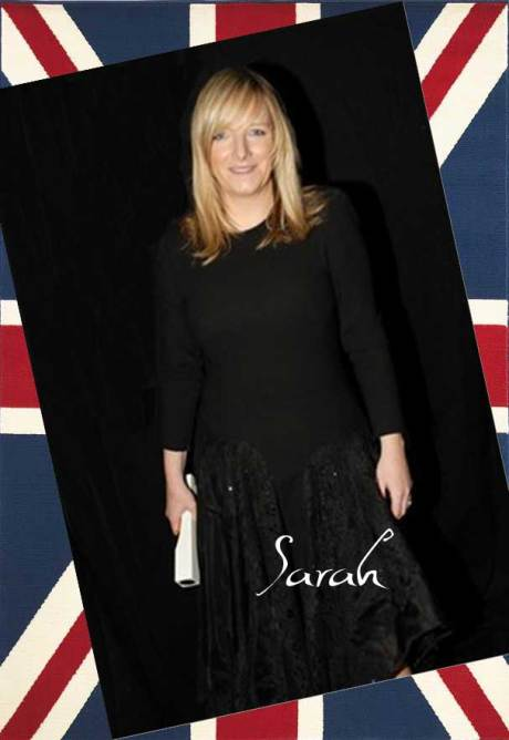 Sarah Burton, Designer of the Year for Alexander McQueen at the 2011 British Fashion Awards. Collage by Jyotika Malhotra on Exshoesme.com