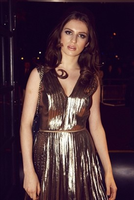 Tali Lennox at the 2011 British Fashion Awards on Exshoesme.com