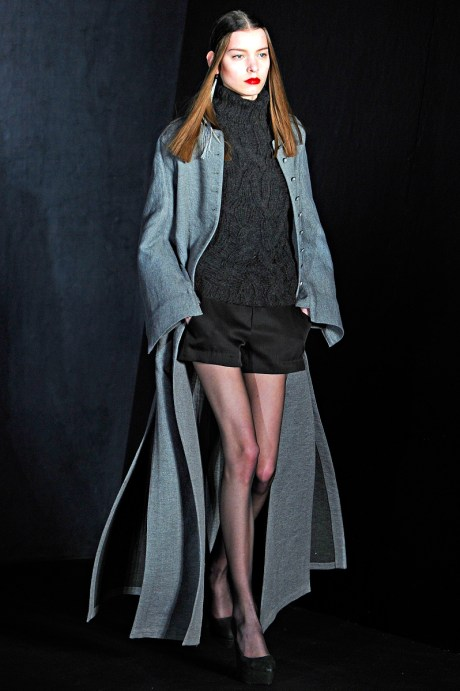 Theyskens Theory FW11 Tiered Coat on Exshoesme.com