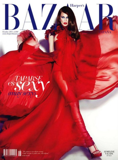 Aymeline Valade Harper's Bazaar Spain October 2011