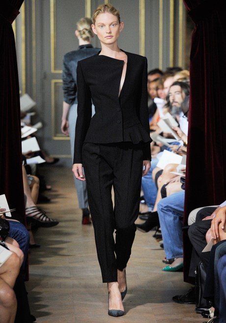 Bouchra Jarrar FW11 Couture Black Suit on Exshoesme.com