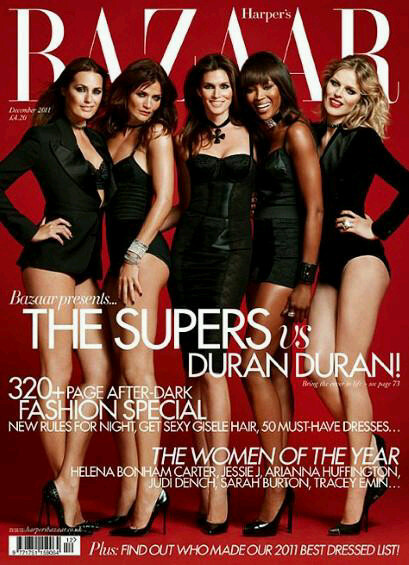 Girl Panic Superstars on Harper's Bazaar UK by Jonas Akerlund Dec 2011 on Exshoesme