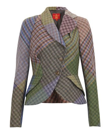 Harris Tweed Jacket Red Label by Vivienne Westwood on Exshoesme.com