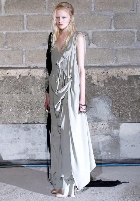 Maison Martin Margiela FW11 Draped Sleeveless Dress on Exshoesme.com