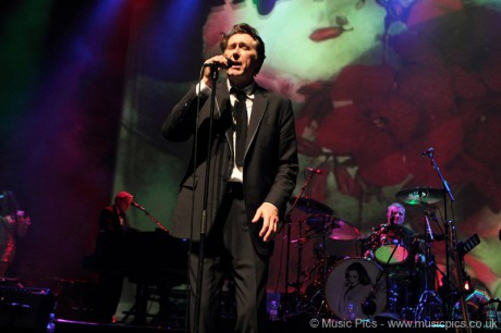 Bryan Ferry performing at O2 Shepherds Bush Empire in London on December 14, 2011 on Exshoesme.com