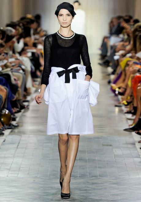 Giambattista Valli FW11 Couture Black and White Cocktail Set on Exshoesme.com