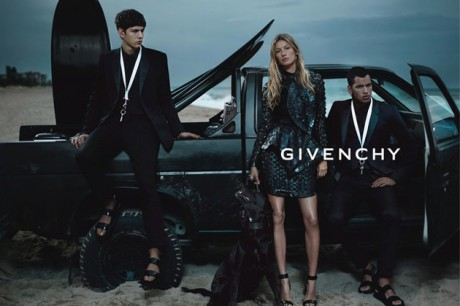 Gisele Bundchen in the Givenchy SS12 Ad Campaign on Exshoesme.com