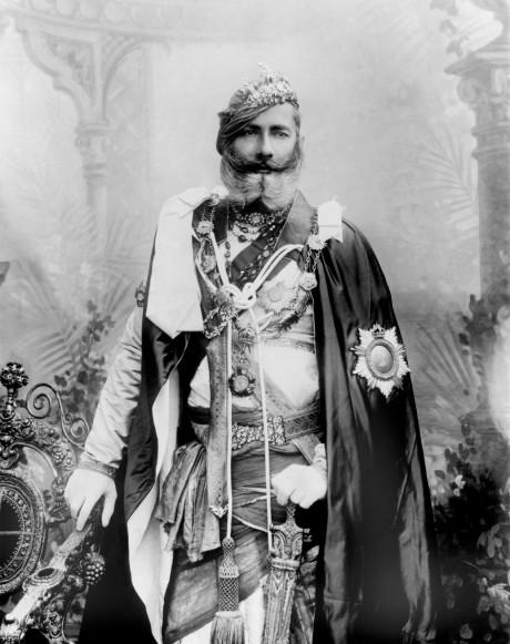Maharaja Pratap Singh of Orrcha, 1903 on Exshoesme.com