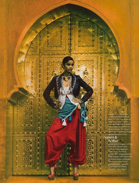 Alyssah Ali photographed by Carl Bengtsson for Elle Sweden March 2009 on Exshoesme.com