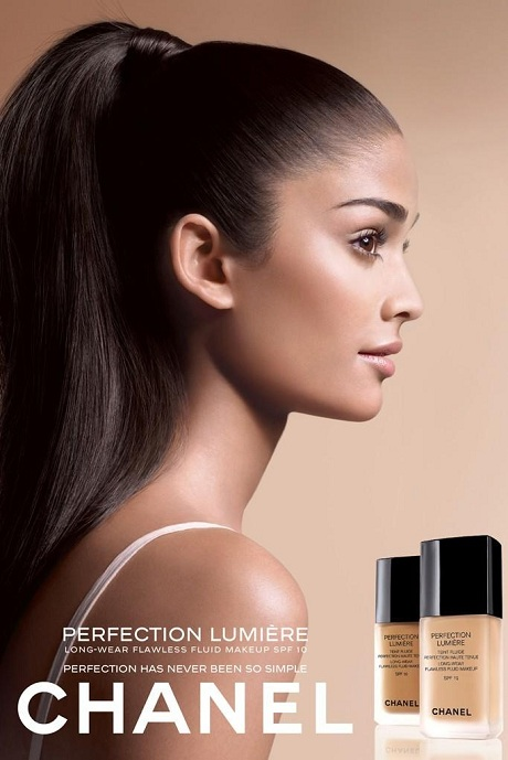 Alyssah Ali photographed by Sølve Sundsbø for Chanel Fall 2011 Beauty Campaign on Exshoesme.com