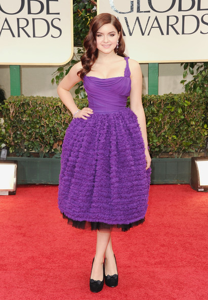 Ariel Winter in Dolce and Gabbana  at the 2012 Golden Globe Awards on Exshoesme.com