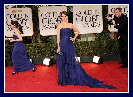 Berenice Bejo in Gucci Première at the 2012 Golden Globe Awards on Exshoesme.com