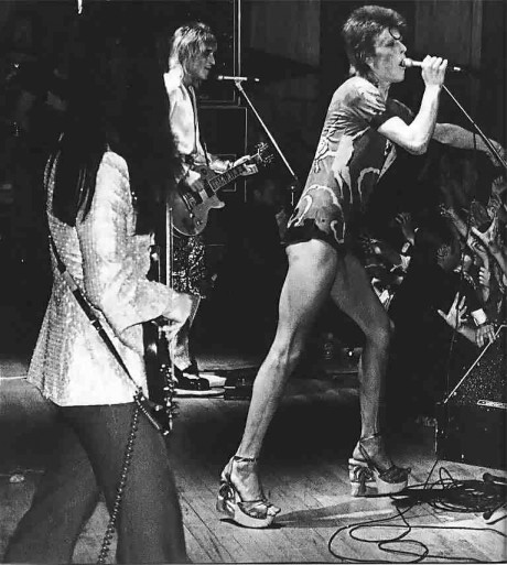 David Bowie in Heels on Exshoesme.com