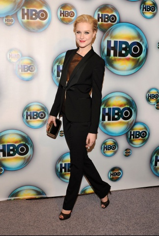 Evan Rachel Wood at the HBO After Party - 2012 Golden Globe Awards on Exshoesme.com