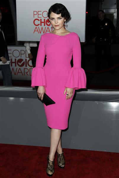 Ginnifer Goodwin in Roksanda Ilincic at the 2012 People's Choice Awards on Exshoesme.com