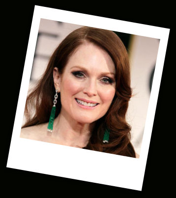 Julianne Moore at the 2012 Golden Globe Awards on Exshoesme.com