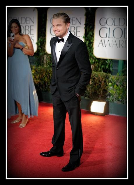 Leonardo DiCaprio at the 2012 Golden Globe Awards on Exshoesme.com