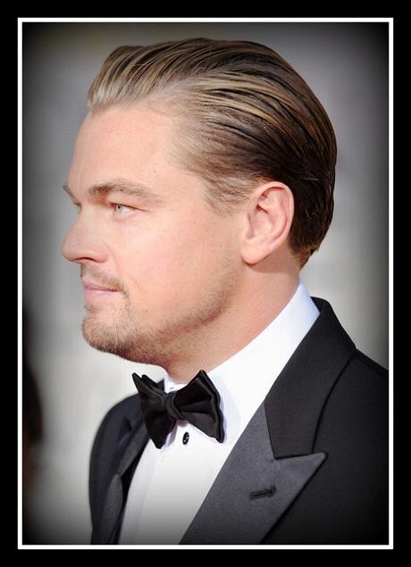 Leonardo DiCaprio closeup at the 2012 Golden Globe Awards on Exshoesme.com