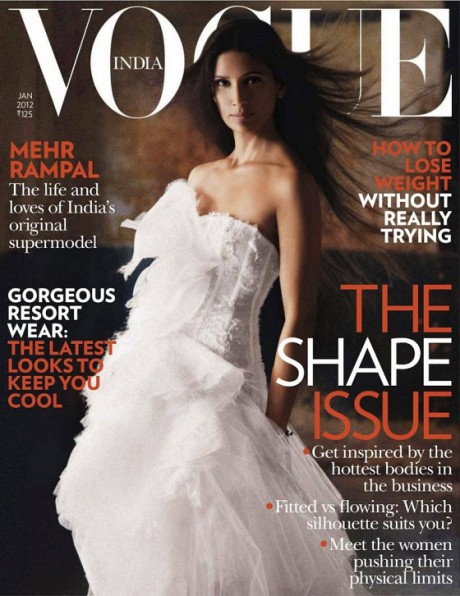 Mehr Rampal photographed by Prabuddha Dasgupta for Vogue India January 2012 on Exshoesme.com