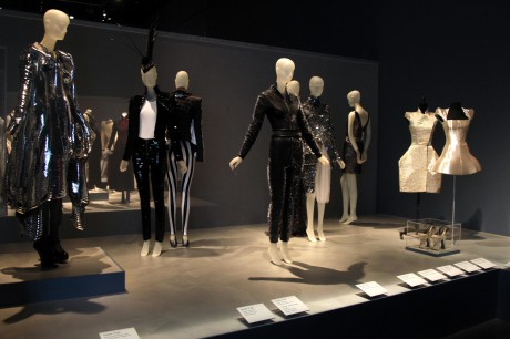 The Armor display at the Daphne Guinness Exhibit at the Museum at FIT on Exshoesme.com