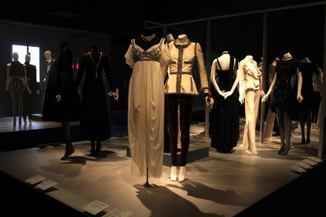The Evening Chic 2 display at the Daphne Guinness Exhibit at the Museum at FIT on Exshoesme.com