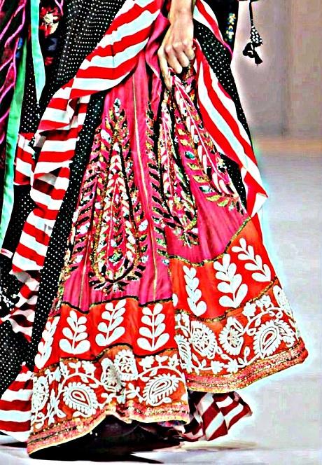 Anupamaa by Anupama Dayal AW12 Layered Lainga 2 on Exshoesme