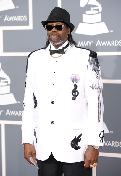 CJ Chenier at the 2012 Grammy Awards on Exshoesme.com