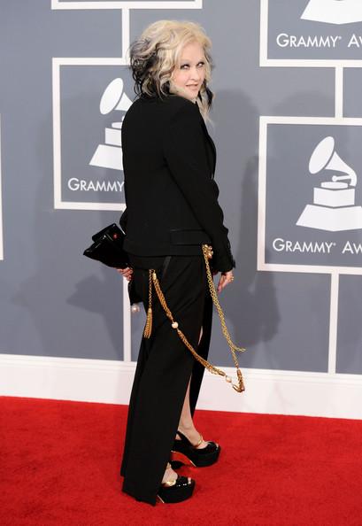 Cyndi Lauper at the 2012 Grammy Awards on Exshoesme.com