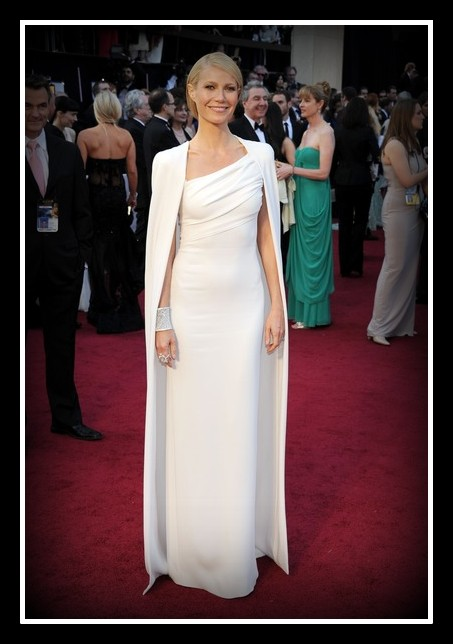 Gwyneth Paltrow in Tom Ford at the 2012 Oscars on Exshoesme.com