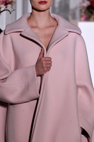 Jil Sander FW12 Soft Pink Coat on Exshoesme.com