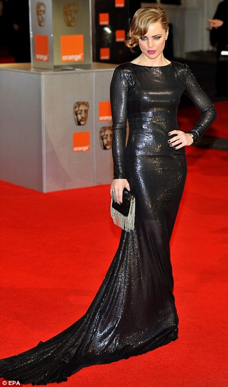 Melissa George in Victoria Beckham at the 2012 BAFTAs on Exshoesme.com